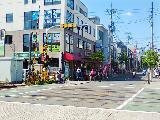 とても風通しの良い綺麗な街並みにあるクリニックです☆