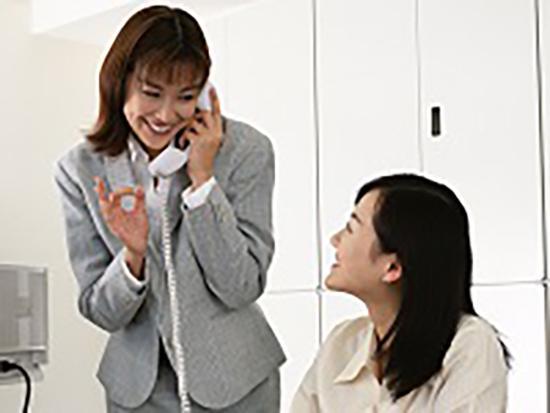女性も長く安心して働ける各種制度が充実しています。