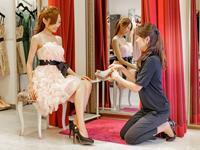 プロの女優付スタイリストさんなども訪れ、貸し出ししたドレスがTVに出ることも!