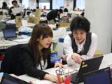 平均年齢は31歳。社員同士の年齢が近く、不安なことや分からないことなどを聞きやすい職場です。