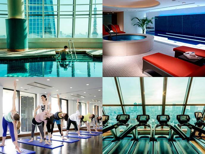ヒルズスパは、ジム・フィットネス・ダイニングなど多彩な施設。またヒルズクラブではウエディングも可能