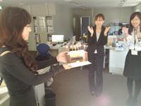 メンバーの誕生日をチームでお祝い★和気あいあいとした社風です