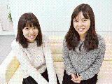 「東京支社には女性社員が少ないので、女性が増えたら嬉しいです!」