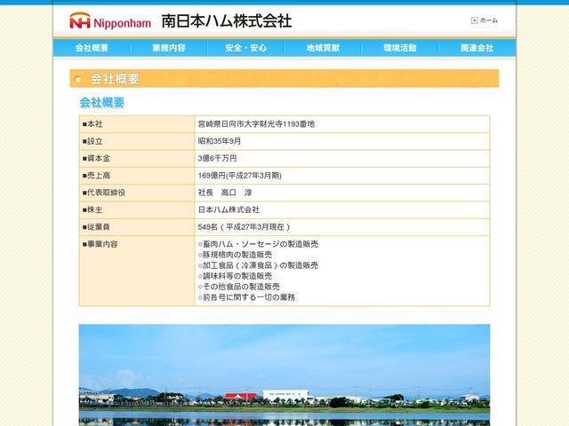 南日本ハム株式会社