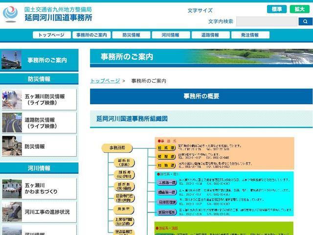 国土交通省九州地方整備局延岡河川国道事務所